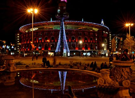 Vue de l'Arena de Plaza Espana, Barcelona
