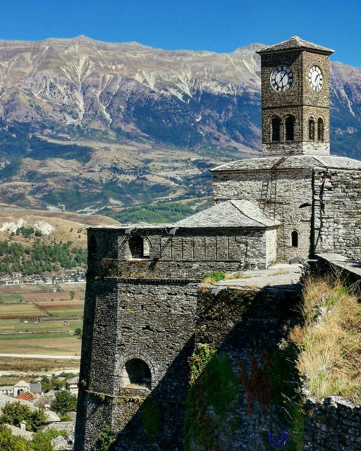Citadelle de Gjirokastër, Albanie