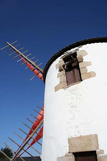 Moulin restauré à Erdeven