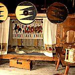 Chambre / cuisine d'un viking (Danemark)