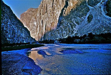 Magnifique vallée de l'Indus