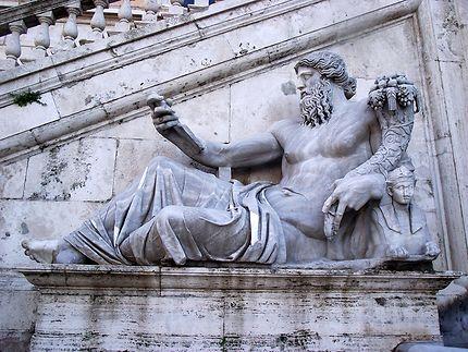 Rome, statue au Capitole
