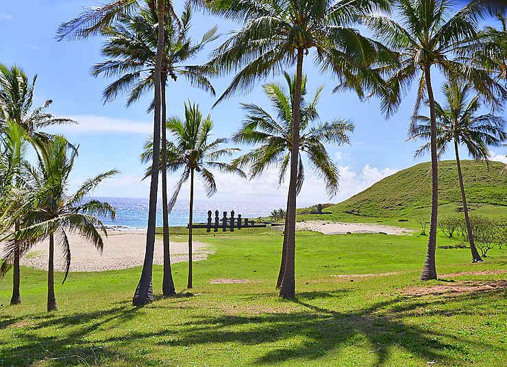 Anakena, aux origines de l'île de Pâques