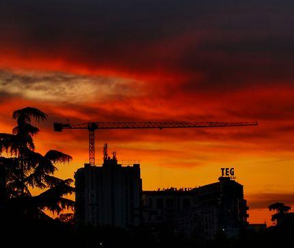 Ciel en construction