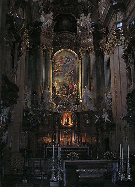 Peterskirche : l'autel baroque