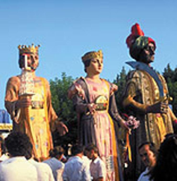 Comme les Rois mages en Catalogne…