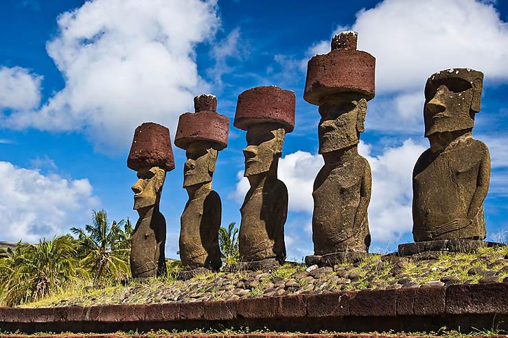 Les moai, incarnation des ancêtres