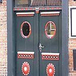 Une porte à Ribe (ouest du Jutland)