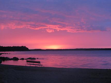 Sunset from Kajaani
