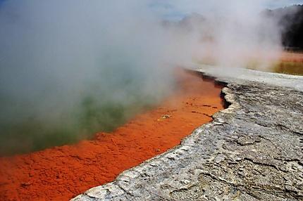 Couleur volcanique à Wai-o-Tapu