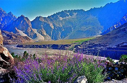 Magnifique vallée de l'Himalaya