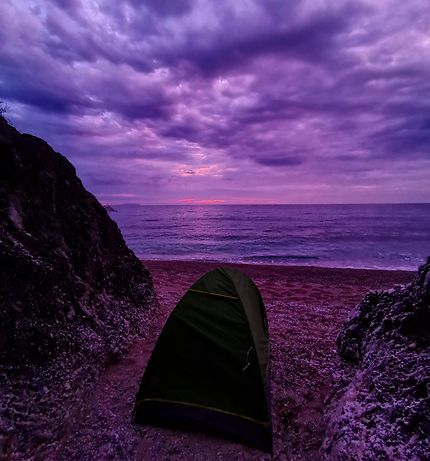 Ultra violet à Dhermi