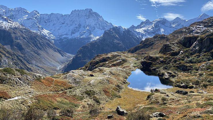 Lac du Lauzon, Hautes-Alpes