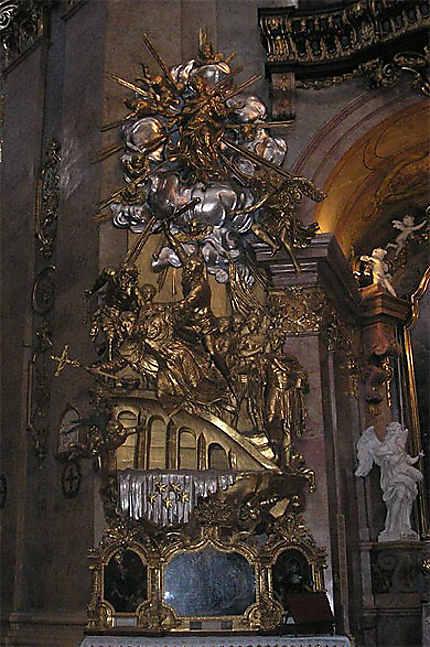 Peterskirche : la chaire baroque