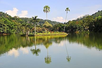 Le lac de Kandy