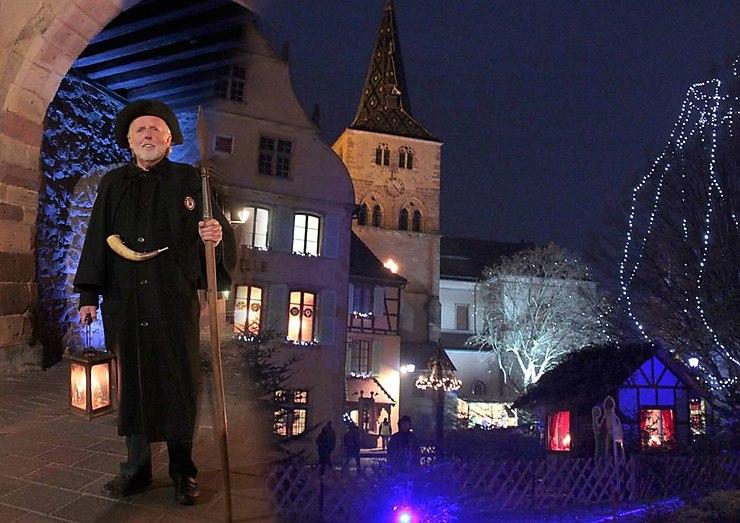 La ronde du veilleur de nuit à Turckheim