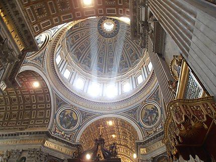 La coupole de la Basilique St Pierre