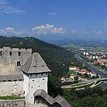 Vue panoramique depuis le château