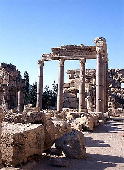 Baalbek, la grande cour