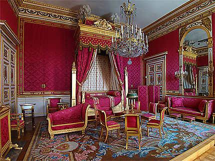 Chambre de l'Empereur : Châteaux : Château de Compiègne ...