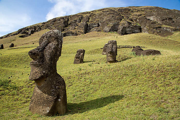 Rano Raraku, le site mythique de Rapa Nui