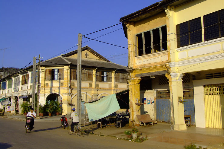 Kampot, une ville à l'héritage colonial