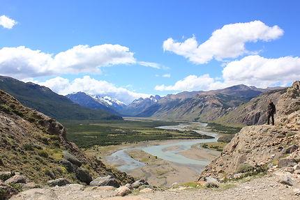 Point de vue sublime aux abords d'El Chalten