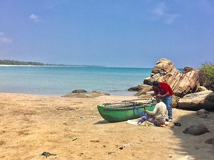Fisherman in Sri Lanka