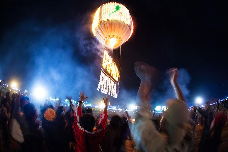 Hot Air Balloon Festival à Taunggyi