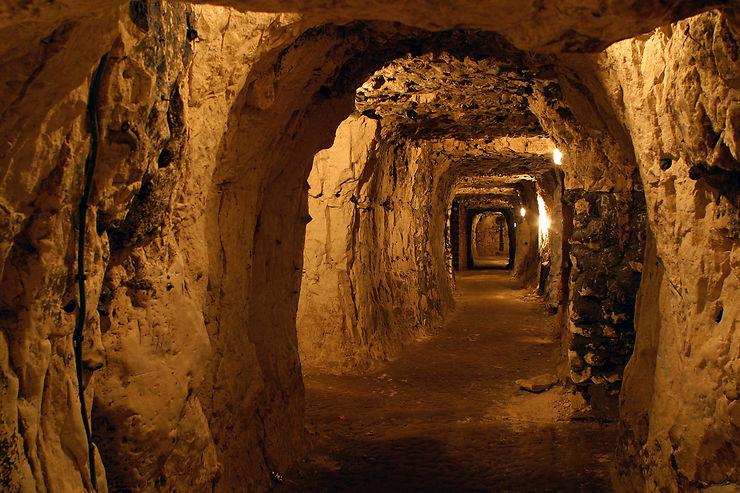 Cité souterraine de Naours - Somme