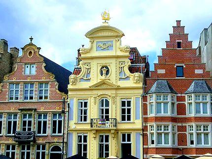 Magnifique architecture flamande à Gand