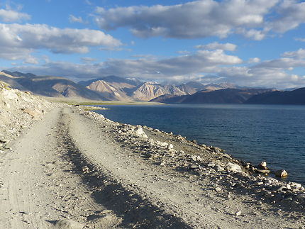 Pangong Road Lake, Inde