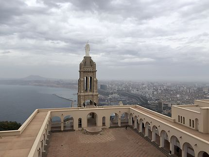 Fort de Santa Cruz en Algérie