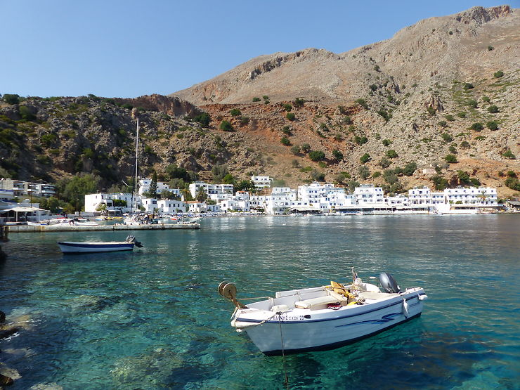 Village de Loutro, Crète