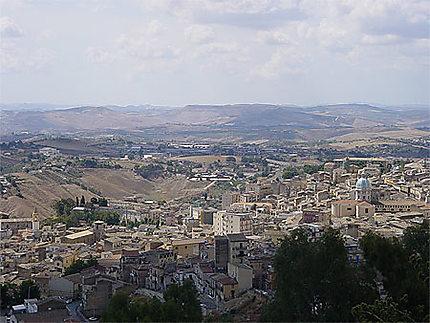 Vue de Caltanissetta