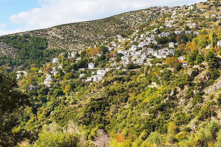 Les villages du Pélion