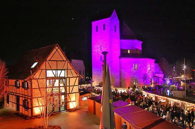 Le surprenant marché d'Ottmarsheim