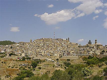 Vue de Caltagirone