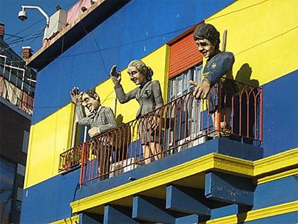 Habitants de papier à La Boca