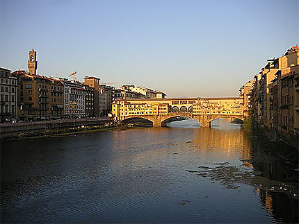 Plein soleil sur le ponte vecchio