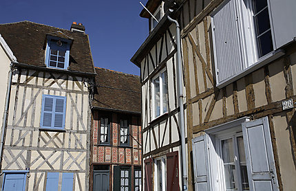 Maisons à pans de bois, Beauvais