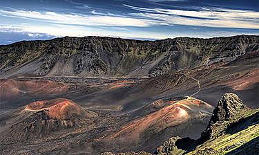 Mauna Haleakala (île de Maui)
