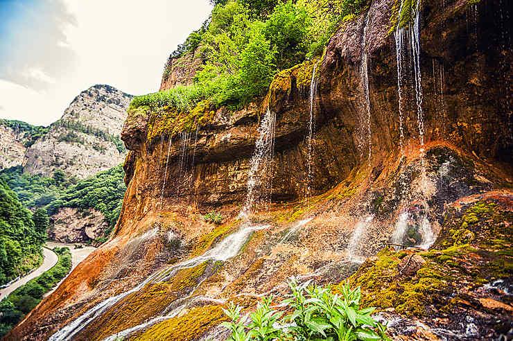 Les cascades de Chegem