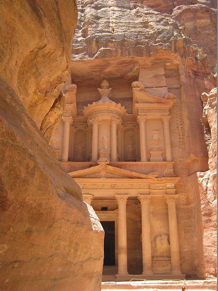 Le trésor en Jordanie