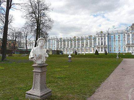 Buste et façade