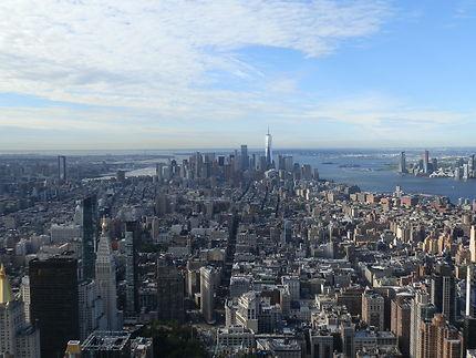 Du haut de l'Empire State Building