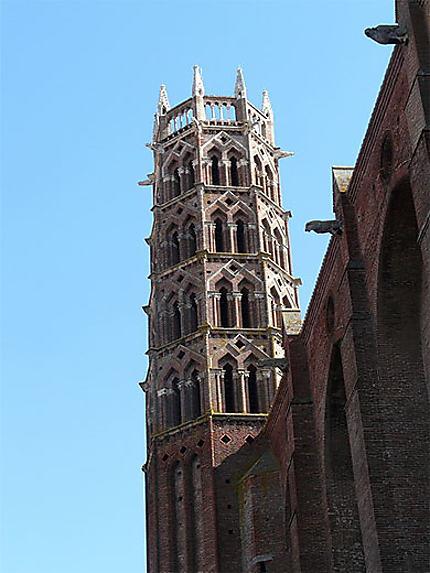La tour de l'ensemble conventuel des jacobins