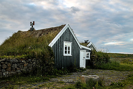 Habitat traditionnel à Keflavík