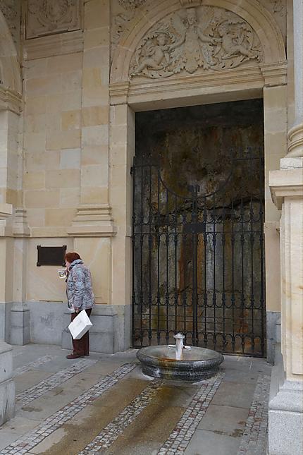 Fontaine à Karlovy Vary
