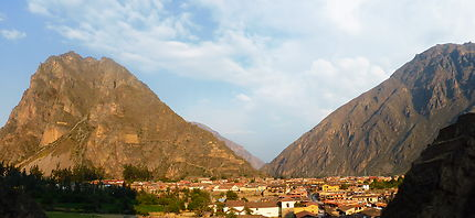 Ville de départ pour Aguas Calientes, Machu Picchu